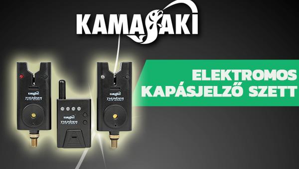 Kamasaki elektromos kapásjelző szett - Energo