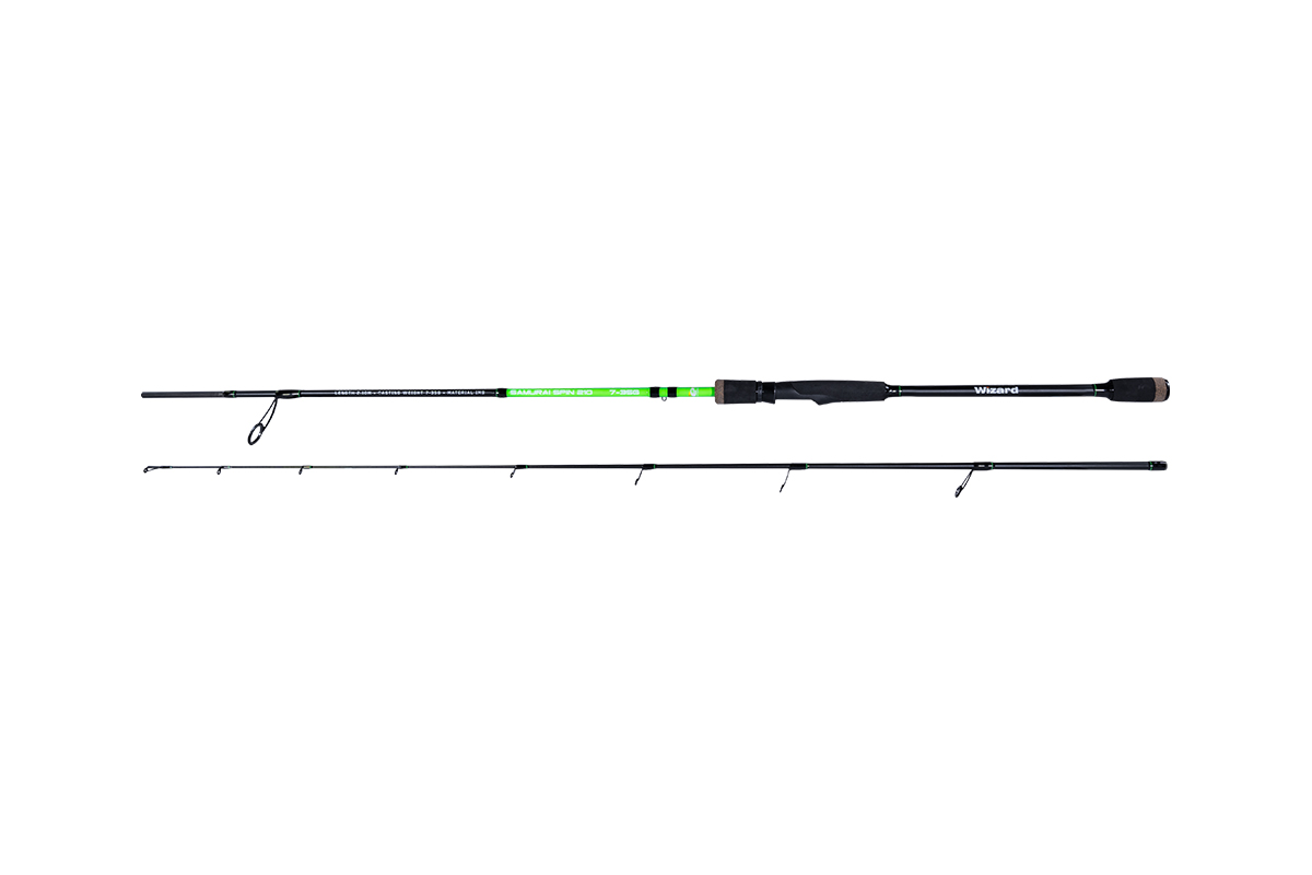 BOT WIZARD SAMURAI-SPIN SA-WZ-210UL-S.IM9, 2,1 M, 7-35 G