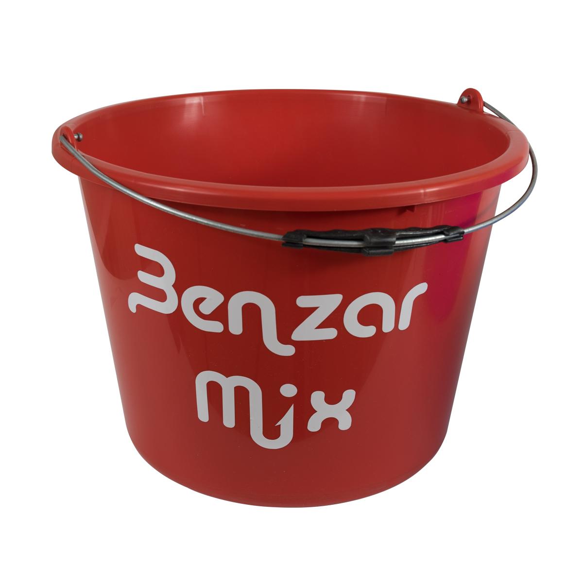 BENZAR MIX VÖDÖR 12 L PIROS