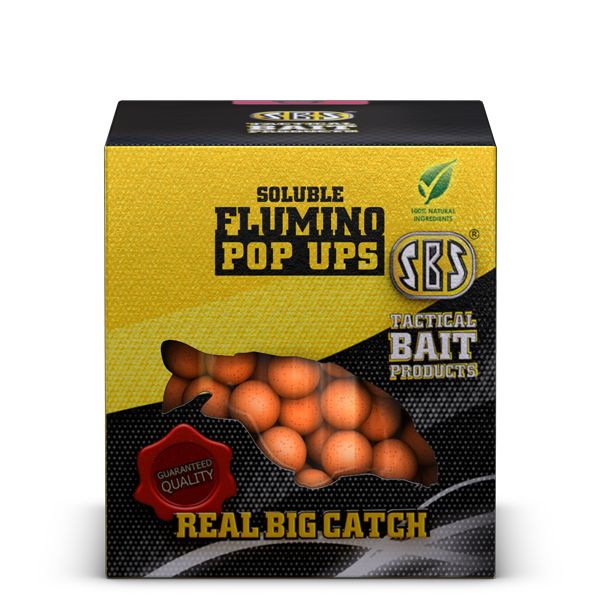 SBS SOLUBLE FLUMINO POP UPS SQUID&OCTOPUS 100GM