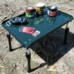 Kényelmesen a vízparton - csalizó asztalok