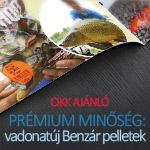 Prémium minőségű Benzár pelletekkel bővült a kínálat!