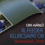 Versenyeink – 2018 III. Feeder Klubcsapatok Országos Bajnoksága