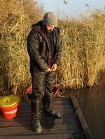 Téli horgászatokhoz öltözve