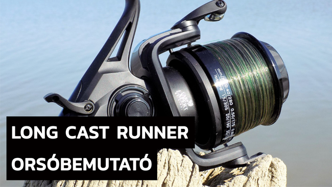 Orsópróba: Carp Expert Giant Long Cast Runner 8000