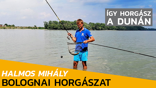 Bolognai botos horgászat a Dunán