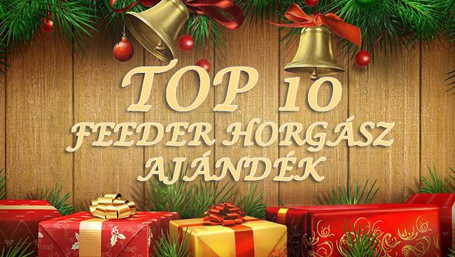 TOP 10 karácsonyi ajándék ötlet feeder horgászoknak