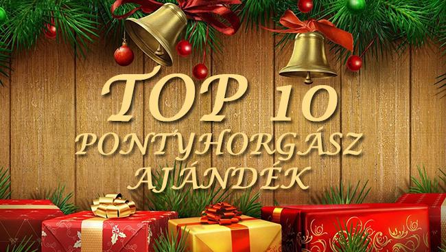 TOP 10 karácsonyi ajándék ötlet pontyhorgászoknak