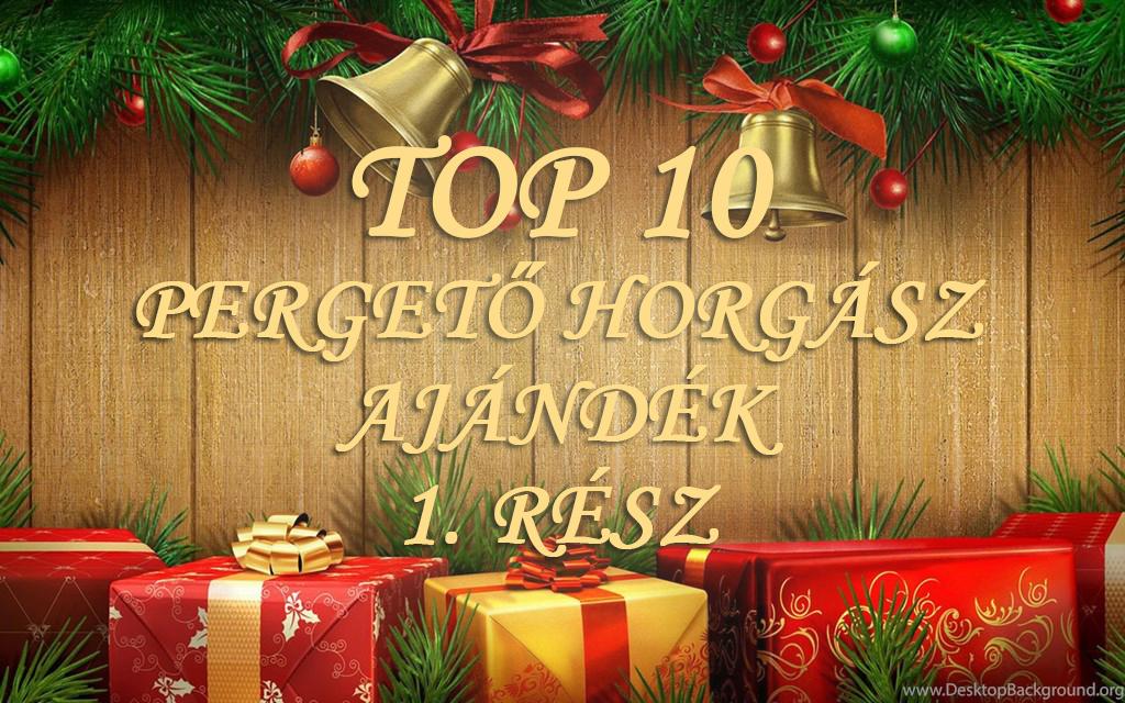 TOP 10 Wizard karácsonyi ajándék ötlet pergető horgászoknak