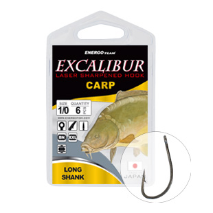 EXCALIBUR HOROG CARP LONG SHANK BN 6