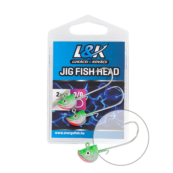 L&K TW FEJ FISH HEAD 4/0 6g