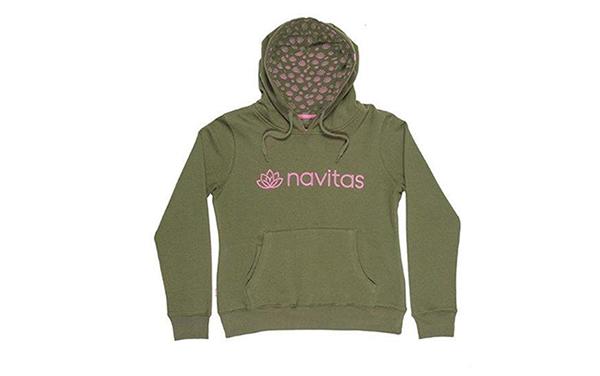 NAVITAS WOMENS HOODY GREEN L