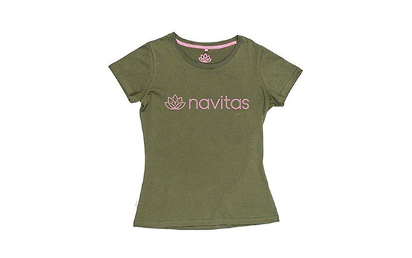 NAVITAS WOMENS TEE GREEN XL