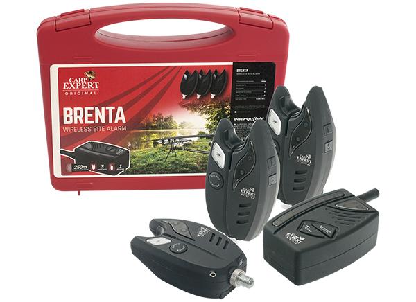 Carp Expert Brenta rádiós kapásjelzõ szett 4+1