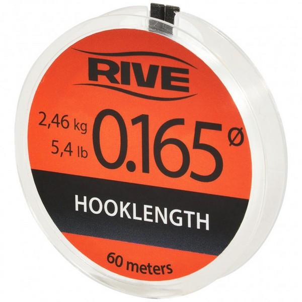 RIVE HOOK LINK LINE DIAM.0.080 60 M TRANSPARENT