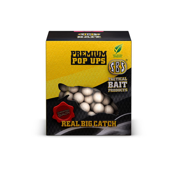 SBS Premium Pop Ups Krill Halibut 100 gr 10, 12, 14 mm