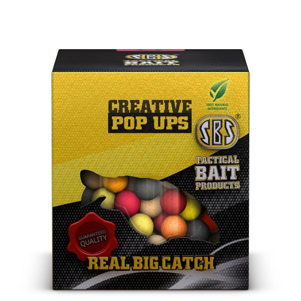 Creative Pop Ups 14MM/20G Strawberry Jam, Pineapple, M1, S