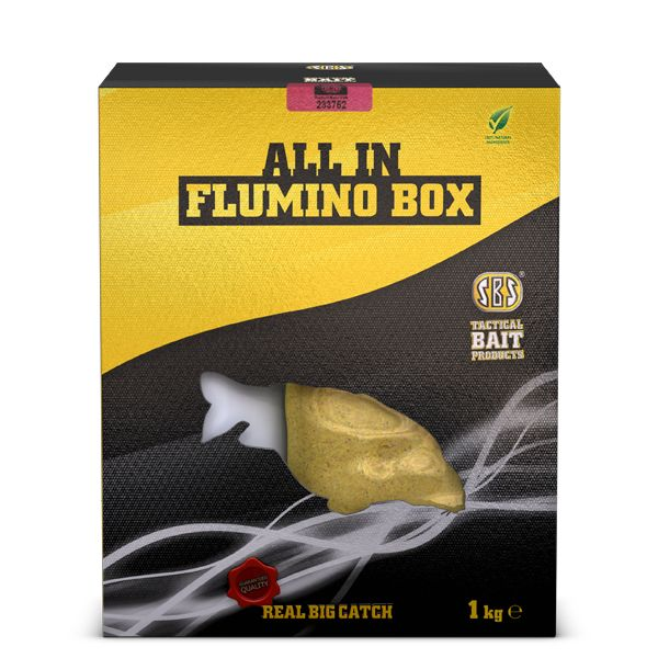 SBS ALL IN FLUMINO BOX CRANBERRY 1,5 KG