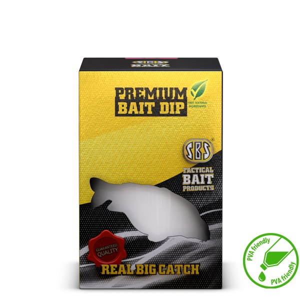SBS Premium Bait Dip Krill Halibut 250 ml