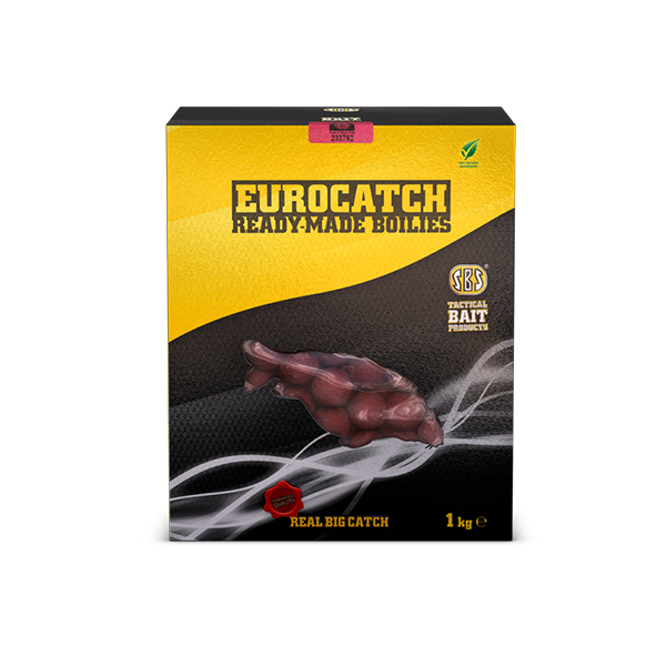 SBS EuroCatch Ready-Made Boilies Tuna & Pineapple 1 kg 20 mm