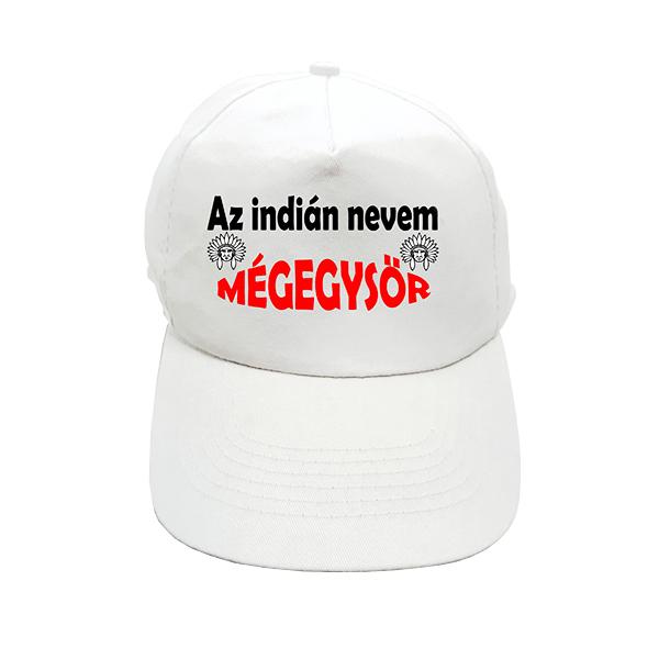 Baseball sapka Az indián nevem